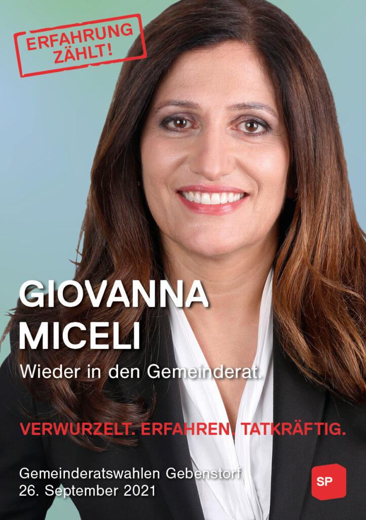 Giovanna Miceli wieder in den Gemeinderat.